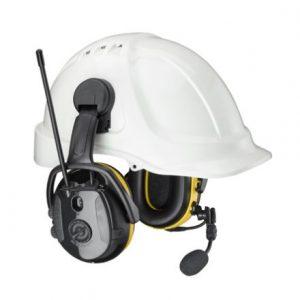 Hellberg Safe-2 Synergy Cap Mount Bluetooth Headset