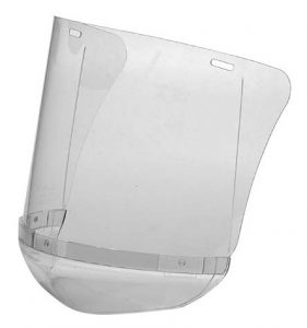 Hellberg Polycarbonate Plastic Visor With Chinguard