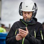 Hellberg Xstream Cap Mounted Bluetooth Headset